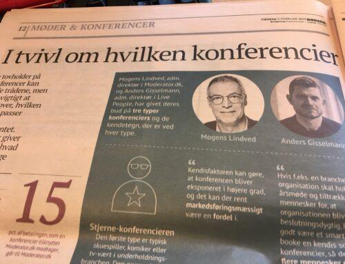 Interview med Børsen.